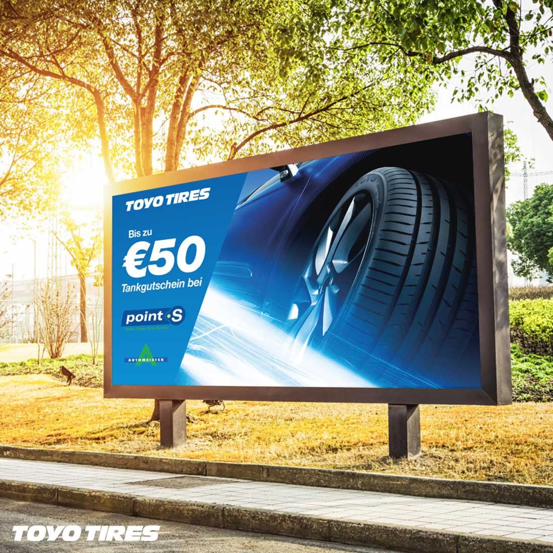 Toyo Tires Billboard